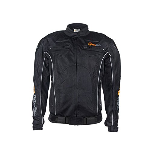 GTYW, Moto, Tuta Da Gara, Giacca, Fuoristrada, Jersey, Giacca Da Moto, Giacca Impermeabile, Protettiva, Da Corsa, Verde, Nero (M-XXl),Black-XL