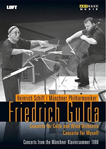 FRIEDRICH GULDA: Concerto for Cello & Orchestra (Live Recording from the Münchner Klaviersommer 1988) [DVD]