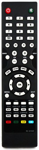 121AV *NEW* REMOTE CONTROL FOR LOGIK MODELS L19DVDB20 * L22DVDB20 * L24DVDB19