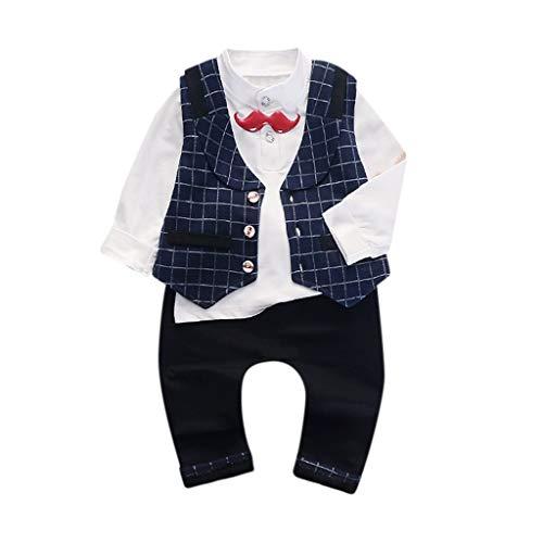 DIASTR 3 Stück Outfits Kleinkind Kind Bekleidungssets