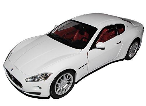 Maserati GT Gran Turismo Coupe Weiss Ab 2007 1/18 Motormax Modell Auto (Maserati Auto)