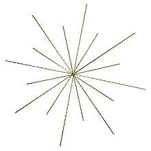 Rayher 2525300 - Stella Metallica per Perline, 15/10 cm, 0,7 mm