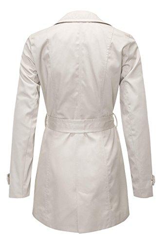 VERO MODA Damen Mantel Elfenbein (Oatmeal Oatmeal)