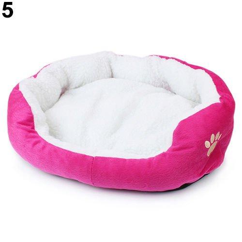 Mfeir cuccia cane interno cuscini per cani divano letto per cane gatto pet animali,rosa caldo piccolo