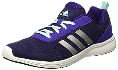 Adidas Women's Adiray 1.0 W Cpurpl/Cblack/Eneaqu/Silv Running Shoes - 4 UK/India (36.67 EU)