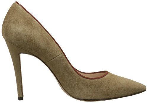 Pura Lopez Pump, Escarpins Femme Marron (Camel/Cotto)