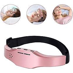 Masseur de tête électrique,Instrument de sommeil,Masseur électriques, Appareil de Massage appareil de massage portatif pour la tête, rechargement USB