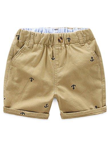 Und 1 Jungen Shorts (ARAUS Baby Bekleidung Jungen Shorts Baumwolle Mädchen Kurz Hose Unisex Sommer 1-9 Alter)