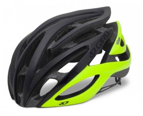 Giro Fahrradhelm Atmos Mehrfarbig Matte Black/Highlight Yellow M