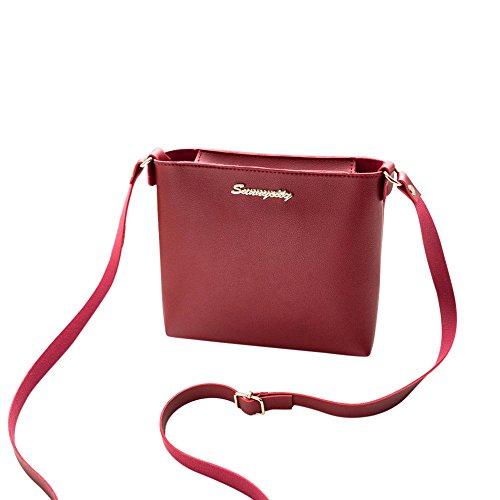 Modaworld Mode Frauen Umhängetasche Messenger Bag Handytasche Münztüte Elegante Damen Abendtasche, Clutch Tasche, Öko-Leder regulierter Gürtel, Crossbody, kleine Handtasche für Frauen, PU Leather
