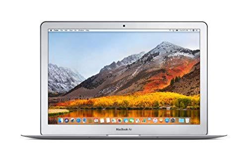 "Apple MacBook Air 33.8cm (13.3"") Laptop (Intel Core i5, 8GB RAM, 128 GB SSD) 2017, Silber"