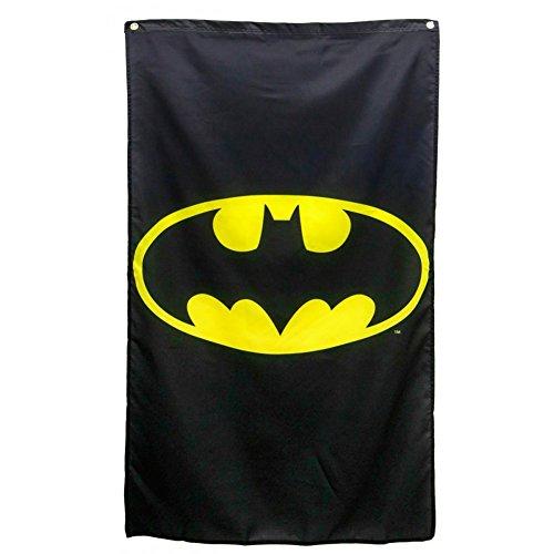 DC Comics Batman Logo Black Banner (50 Us-star)
