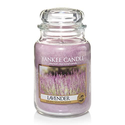 Yankee Candle Glaskerze, groß, Lavender