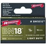 Arrow Agrafes Clous 15mm 500p Bn1810