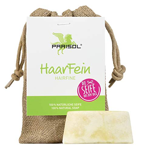 Parisol HaarFein Die Seife aus dem Sack | 100% natürliche Seife für die Fellpflege des Pferdes | Für Fell, Mähne und Schweif (100 g) -