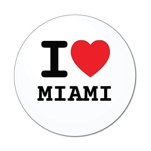 Miami Notebook Skin (JOllify Aufkleber - MIAMI – Farbe: Design: I love - Ich liebe)