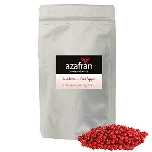 Azafran BIO Rosa Beeren Pfeffer ganz - Rosa Pfefferkörner 250g - Rote Pfefferkörner