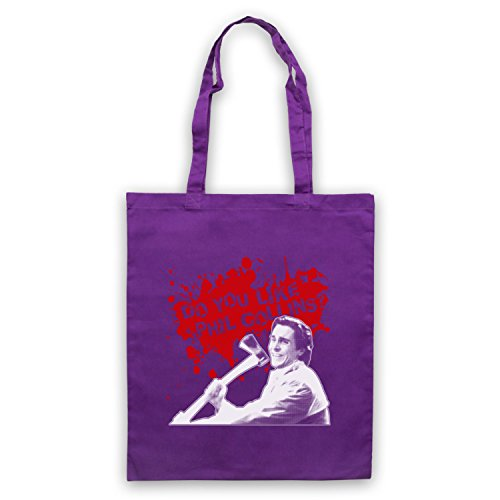 Inspired Apparel Inspire par American Psycho Do You Like Phil Collins? Officieux Sac d'emballage