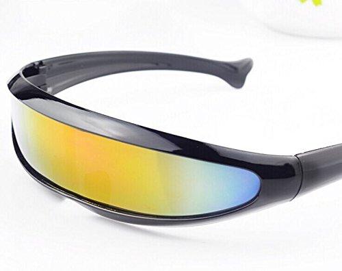 sunglass-Sonnenbrille-Oberschenkel-, Stil Roboter, für Wandern, Klettern, Fahren, Surf und Urlaub