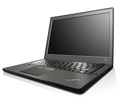 Lenovo ThinkPad X250 12,5 Zoll Intel Core i5 240GB SSD Festplatte 8GB Speicher Win 10 Pro Webcam Notebook Laptop Ultrabook (Zertifiziert und Generalüberholt)