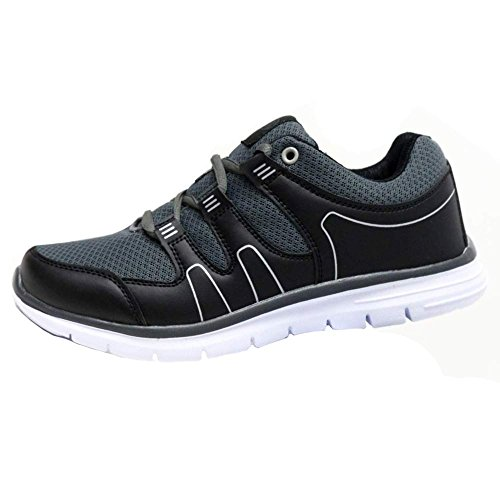 Mens Shock Absorbing Light Weight Running Trainers Jogging Gym Walking Fitness Sports...