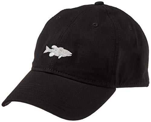 Ouray Sportswear Unisex Epic Washed Twill Cap, Black, Adjustable Damen-washed Twill Cap