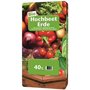 Floragard Universal Bio Hochbeeterde 40 L Amazon De Garten