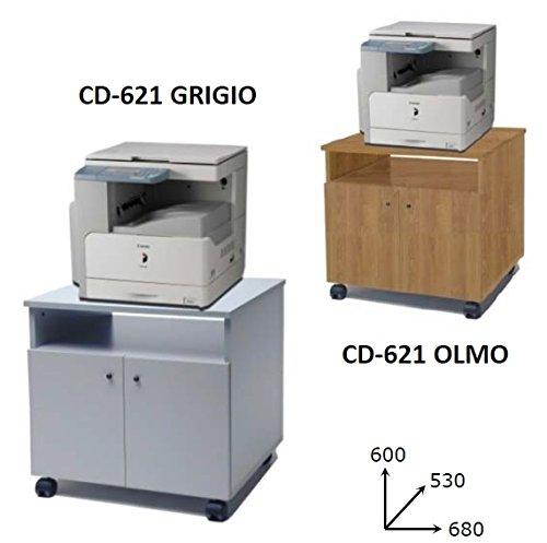 Mobile porta fotocopiatrice eco su ruote cm. 68x53x60h complementi di arredo