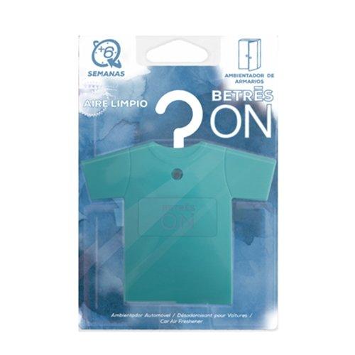 BETRES ON Ambientador de armario Camisa Aire Limpio