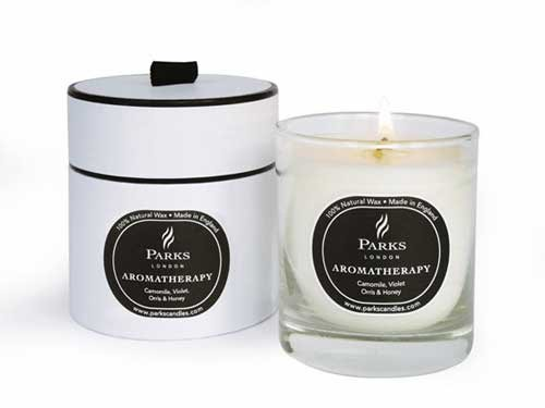 Camomile-Violet-Orris-Honey-Aromatherapy-Scented-Candle-Gift-Boxed-Parks-Candles