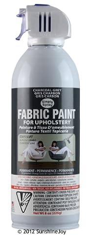 Teinture pour mobilier tissu Simply Spray en aérosol 240 ml -Gris UPH215