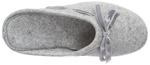 Hans Herrmann Collection hhc, Pantofole non imbottite donna Grigio (Grau (grigio -10))
