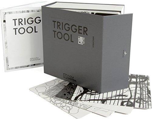 FLOW SYSTEM - Trigger Tool Structure - 60 ungegenständliche, grafische Bildkarten für eine neue Art der Kommunikation für Trainings, Workshops, Teams, Seminare, Coaching mit repräsentativer Transportbox und Arbeitsbooklet -