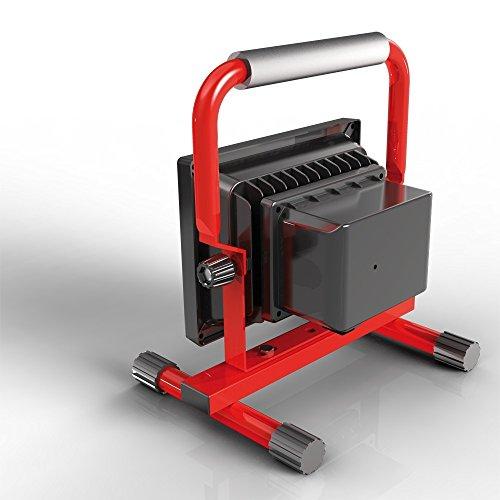XANLITE PR10WR - Proyector LED recargable, color rojo/negro, Metal y plástico, rojo/negro,...