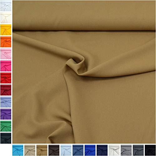 MAGAM-Stoffe Mara Allround Stoff Blickdicht Knitterarm Kostüm Tischdecken Dekostoff (15. - Kind Camel Kostüm