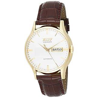 Tissot Visodate T0194303603101 – Reloj de Mujer de Cuarzo, Correa de Acero Inoxidable Color Gris