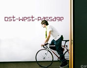 Wandtattoo Passage Wunschtexttattoo uss397 Wandaufkleber ...