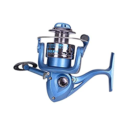 nabotht Fisch Rad 2000–6000 Fisch Wheel Angeln Gear Reel Spinnrolle Angelrollen