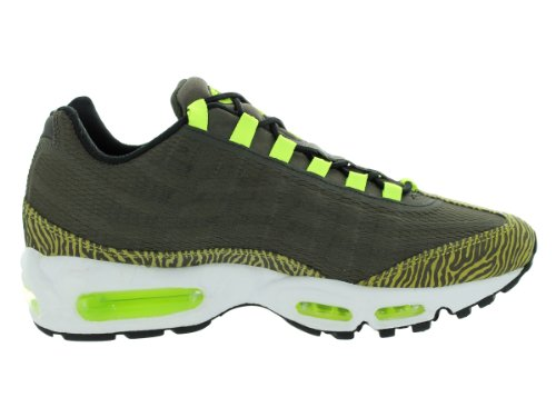 Air Max 95 PRM Bandlaufschuh Newsprint / Dusty Grey / Black/ Volt