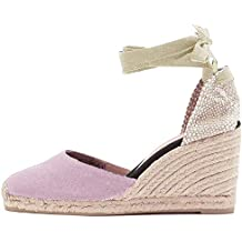 Rosa Donna Zeppa Scarpe it Amazon xavqwgnZpx