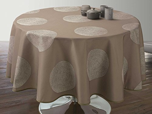 Linge table ronde