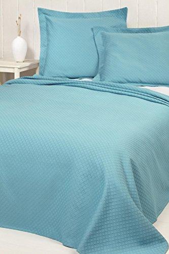 Copriletto Nido D Ape.Home Basic 253 Copriletto Nido D Ape Per Letto Singolo 180 X 260 Cm Colore Bianco