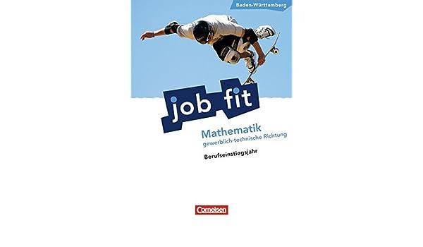 Job Fit Mathematik Baden Württembergbej Gewerblich Technische