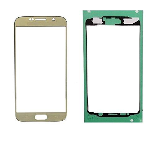 LCD Touch Pantalla Táctil Frontal Cristal Glass Cristal de pantalla para Samsung Galaxy S7S6S5S4S4mini S3S3Mini S2+ Adhesivo ahmen