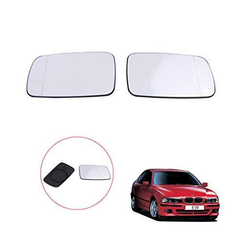 Preisvergleich Produktbild sengear 1Paar beheizte Spiegelglas Glas für BMW 5Serie E39/7Series E38