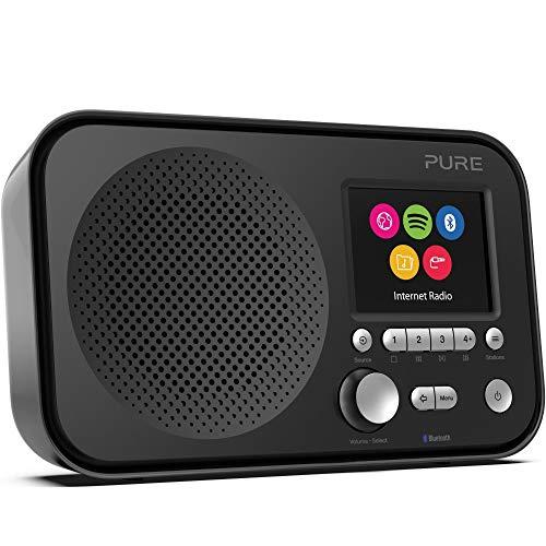 Spotify Pure ConnectNoir Avec Elan Internet Et Ir5 Bluetooth Radio shdtrQ