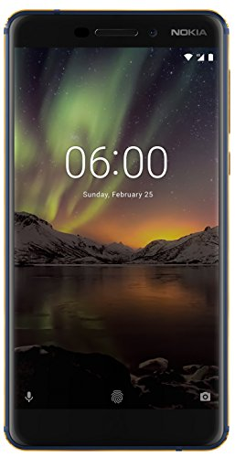 Nokia 6.1  Blue Gold, 4  GB RAM, 64  GB Storage  Smartphones
