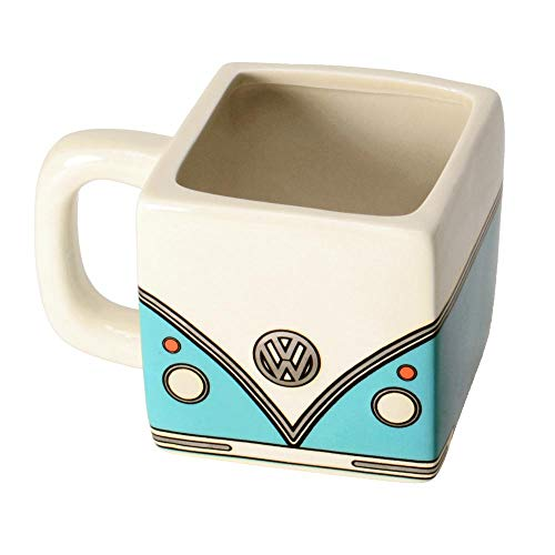 Volkswagen T1 Bus Kaffeebecher in türkis - VW Bulli Kaffeetasse