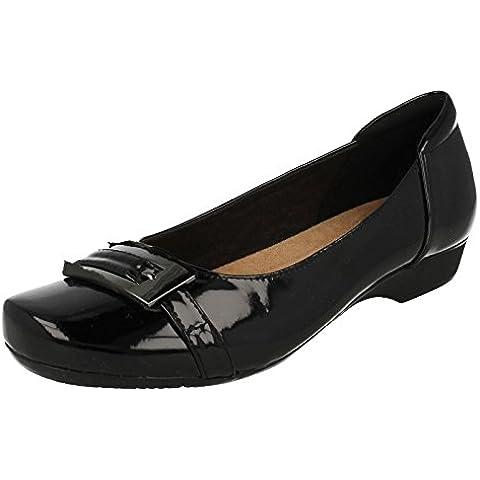 Ballerina scarpe per le donne, colore Nero , marca CLARKS, modello Ballerina Scarpe Per Le Donne CLARKS BLANCHE WEST Nero