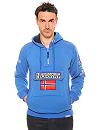 Geographical Norway - Sweat Geographical Norway Gymclass Bleu